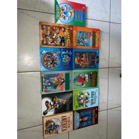 Lote De Volumes 11 Encadernados Disney Abril Pateta Mickey
