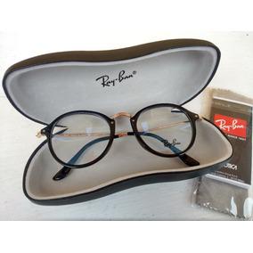 Oculos De Grau Masculino Redondo Ray Ban - Óculos no Mercado Livre ... ac664ef097