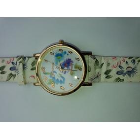 Relógio Florido Várias Cores