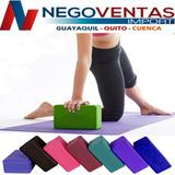 Ladrillo Yoga Eva Bloque De Goma Ejercicios Posturas Pilates
