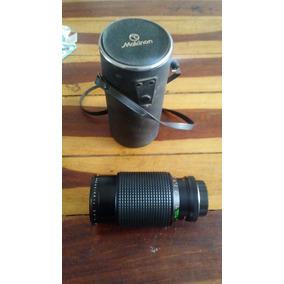 Lente Zoom Makinson F=80-200 Acople Nikon