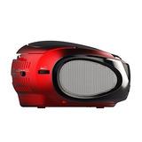 Ematic Ebb9224rd Cd Bluetooth Estéreo Portátil (rojo)