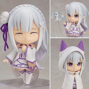 Action Figure Nendoroid Boneca Emilia Anime Re: Zero