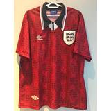 Camisa Inglaterra 1993 - Umbro Original Futebol