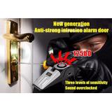 Cuña Puerta Con Alarma Sonora - 125db - Protege A Tu Familia