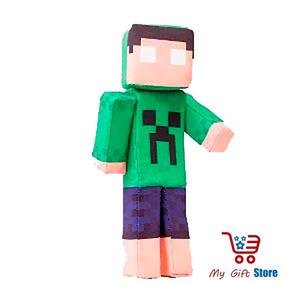 Boneco Minecraft Spok Articulável (original Zr Toys)