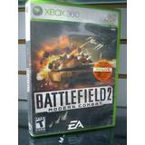 Juego Xbox360 Usado Batlefield 2 Moder Combat Cat2