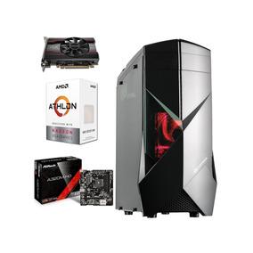Computador Gamer Amd Athlon 200ge 8gb Ram 2400mhz 4gb 1tb