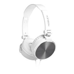 Auriculares Noblex Hp-97ws Blanco/acero