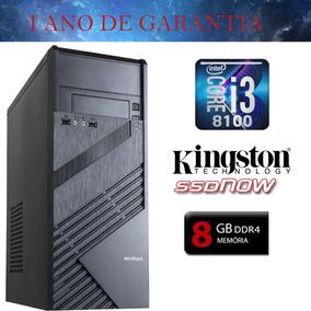 Computador Hyper 2.0 Intel I3 8100 Ssd 240gb 8gb Ddr4