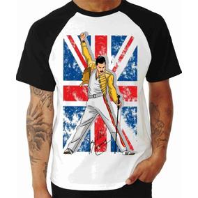 Camisa Camiseta, Queen - Freddie Mercury Banda Rock Classic