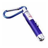 Mini Lanterna Laser Luz Uv Ultravioleta Chaveiro Gato 3 Em 1