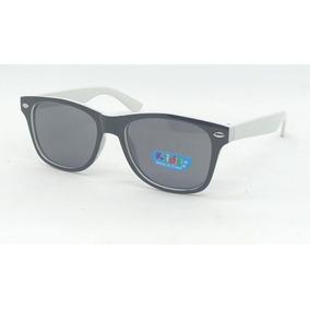 bc5999b764ee74 Óculos Sol Infantil Verão Bebê Menino Unissex Armação Branca