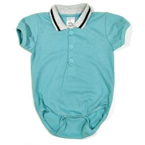 Body Bebê (branco suedine) (azul E Vermelho malha) Meninos 5fe13625137