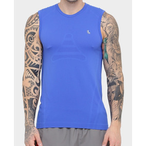 Camiseta Gola Careca Com Botao - Camisetas Regatas para Masculino no ... eec6ec9a2294d