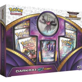 Jogo De Cartas Pokemon Box Darkrai Gx Brilhan
