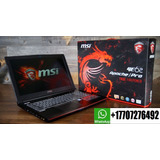 Msi Ge62-6qf Apache-pro Gaming Laptop