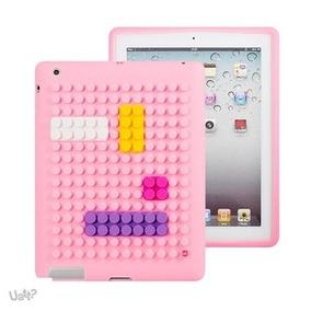Capa Para Tablet Bloquinhos - Pink