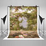 Comophoto Fairy Tale Backdrops Recién Nacidos Arte Floral Te