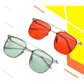 3e1bd4ebf9ef5 Oculos Espelhado Rose Quadrado De Sol - Óculos no Mercado Livre Brasil