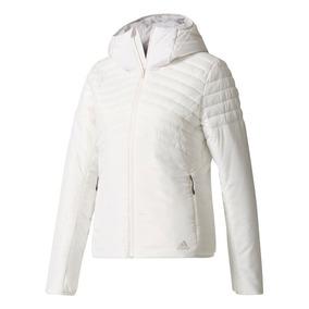 Jaqueta Adidas Branca Gg Original Femininos - Casacos no Mercado ... ff3d011610a92