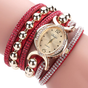 3678fa8e793 Relógio Exato Prata Pink Rosa Roxo Vermelho Borracha - Relógios De ...