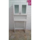 Mueble Sobre Inodoro / Organizador Bano /