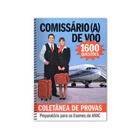 Coletânea De Provas Comissário De Voo 1600 Questões +brinde