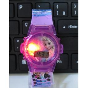 343b568858 Relogio Infantil Frozen Meninas - Relógios De Pulso no Mercado Livre ...