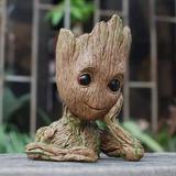 Baby Groot Guardiões Da Galáxia Vaso E Porta Lápis Marvel