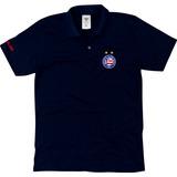 Camisa Polo Bahia Tricolor Baiano Masculino Blusa Polo aa06247f0dcc5