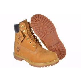 Bota Timberland Feminina Yellow Boot 6 Premium Bege Palha b7a7a2a98bef1
