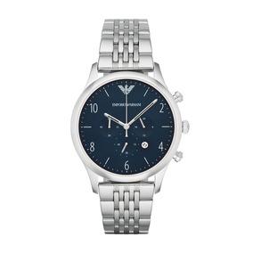 617bc2c2ce1bb Relógio Emporio Armani Ar1635 Classic Blue Chronog - Relógios De ...