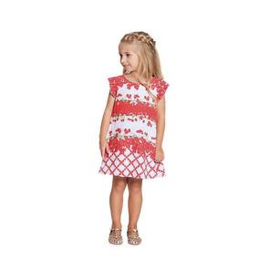 7b9cdc3333 Vestido Infantil Menina Ninali Crepe Branco Florido Sininho