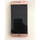Defeito Wifi Moto G5s Plus Dourado Rose Acompanha 3 Capas
