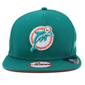Boné New Era 9fifty Miami Dolphins Original Fit Snapback 9db6a073047