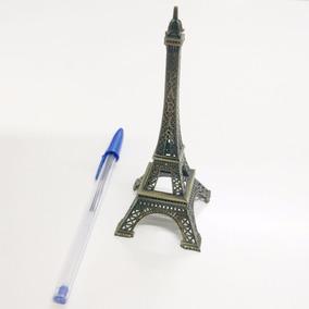Torre Eiffel Miniatura Em Metal