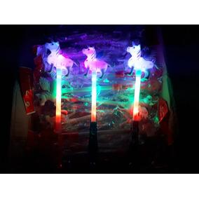 b92f274f224 20 Varita Unicornio Luz Led Luminoso Juguete Fiesta Pony