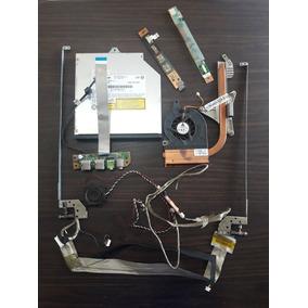 Peças(flat+dobradiça+cooler+auto-falante+power)itautec W7655