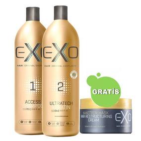 98ce24793 Exoplastia Capilar Exo Hair 500ml - Cabelo Escova Progressiva no ...