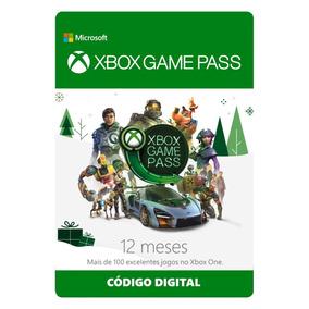 Xbox Game Pass 12 Meses Original - Código Digital