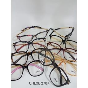 Armação Óculos De Grau Feminina Acetato Fechada   Mod. 2707 d53c143b59