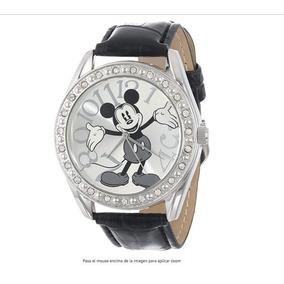 2 Reloj Mickey Mouse, Correa De Cocodrilo Unisex Y Blanco