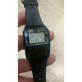 3b18a06b3c1 Antigo Relogio Casio Data Bank - Relógios no Mercado Livre Brasil