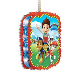 Piñata Silueta Paw Patrol Incluye Palo, Patrulla Canina