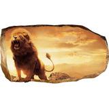 Startonight 3d Mural Wall Art Photo Decor Lion In Bedroom A