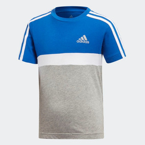 Camiseta Infantil Adidas - Camisetas Manga Curta Meninos no Mercado ... 9c51f52eee3