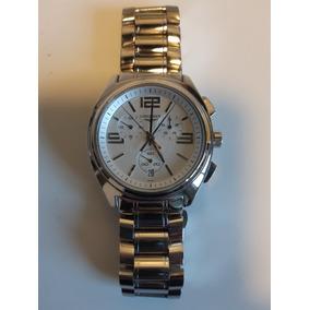 33810a0d652 Relogio Longines Conquest Quartz Modelo L 1 621 4 - Relógios no ...
