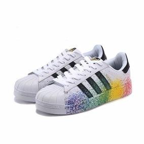 c83796bee8b Tenis Adidas Superstar Colorido Original - Calçados