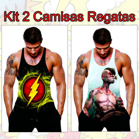 Camiseta Regata Super Heroi Masculina - Calçados 2117143f96c